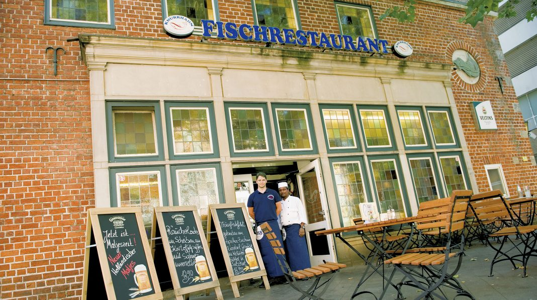 Das Restaurant Knurrhahn | Foto: L. Bienkowski