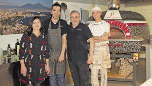 v. l.: Concetta, Marco, Emanuele (Zio Manu) und Salem