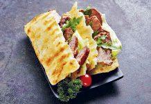 Huo Shao - Chinesischer Burger | Foto: Wang Chinese Crêpes + Burgers